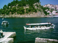 photo: The port of Parga, view from parga's islet