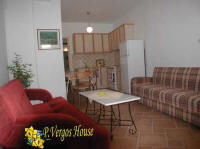 photo of one of the two apartments from the accommodation Vergos House in Parga